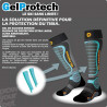 Chaussettes ski alpin - MONNET GELPROTECH (Bleu)
