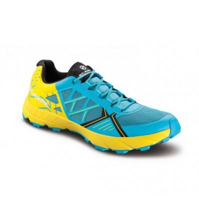 Chaussure trail Scarpa Spin wmn scuba blue lemon femme