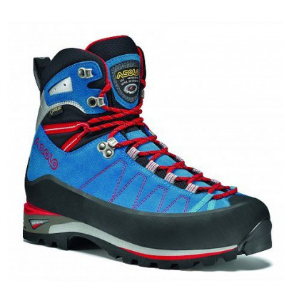 Chaussures Asolo Elbrus Gv Mm Blu Aster/argento