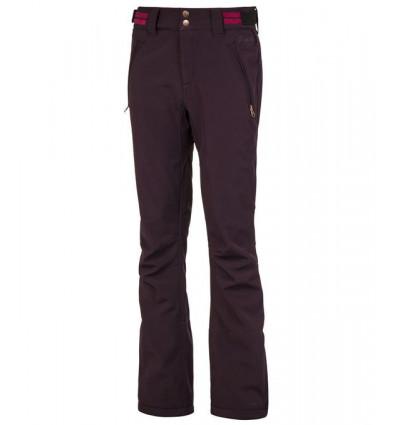 Pantalon de ski Protest LOLE softshell snowpants (Dark Lava)