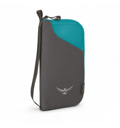 Osprey Document Zip Wallet Tropic Teal