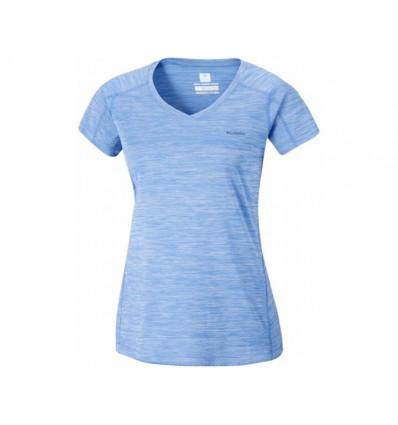 T-shirt Technique Columbia Zero Rules Femme (medieval heather)