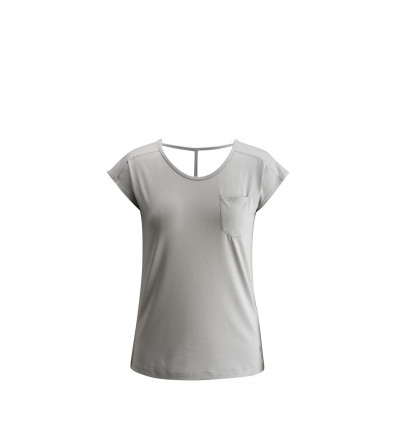 Tee shirt Black Diamond Beta Tee (Aluminium) Femme