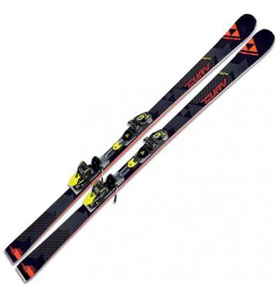Pack Ski Fischer RC4 The Curv Curv booster + RC4 Z13 Freeflex