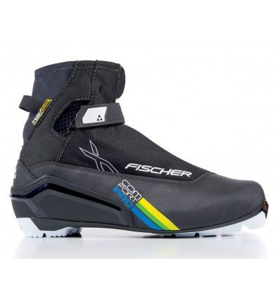 Chaussure Ski Nordique Fischer XC Comfort Pro Black/Yellow