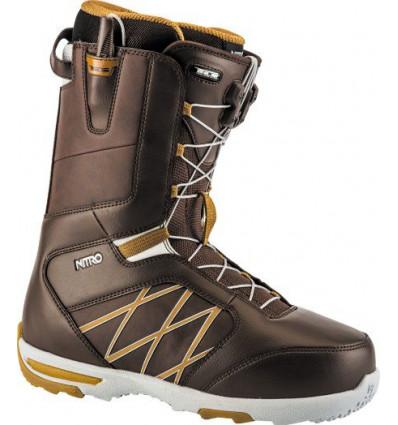 Boots Anthem TLS brown Nitro Snowboard 2018