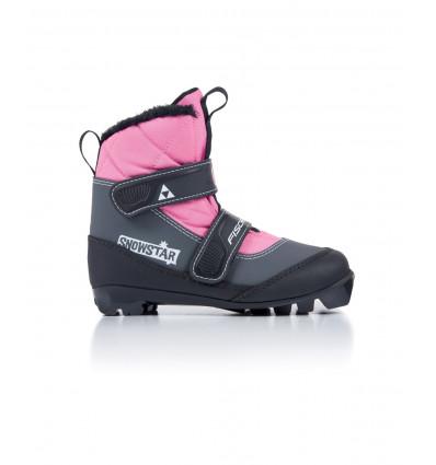 Chaussure Ski Nordique Fischer Snowstar Pink Enfants