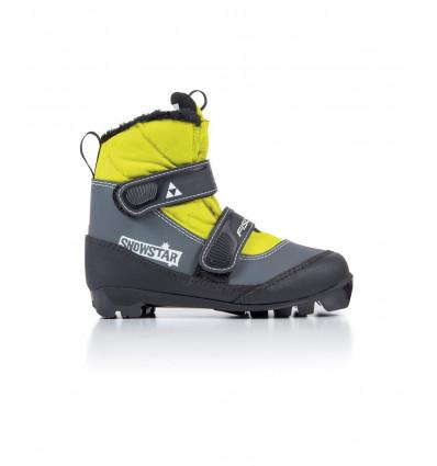 Chaussure Ski Nordique Fischer Snowstar Black/Yellow Enfants