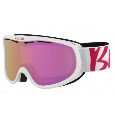 Masque de Ski Bollé Sierra Femmes (White pink rose gold)