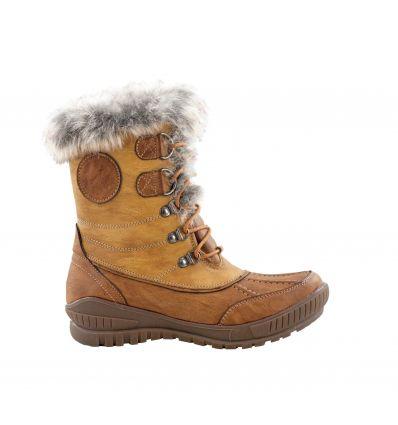 Chaussures après-ski Kimberfeel Delmos (Beige) femme