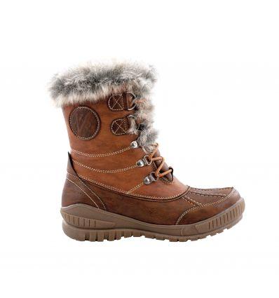 Chaussures après-ski Kimberfeel Delmos (Cognac) femme