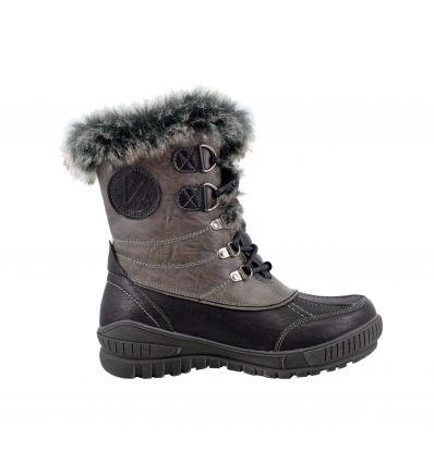 Chaussures après-ski Kimberfeel Delmos (Black) femme