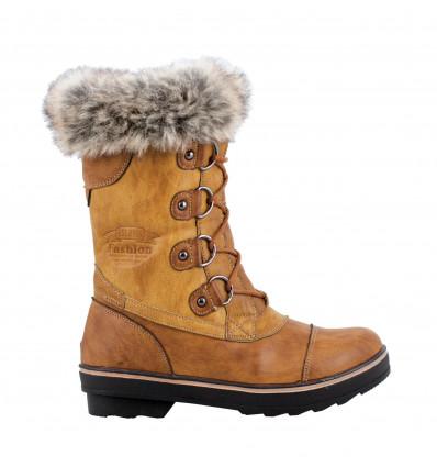Chaussures après ski Kimberfeel Aponi (Beige) femme