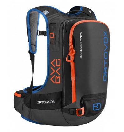 Sac Airbag Freerider 22 Avabag Ortovox (black anthracite)