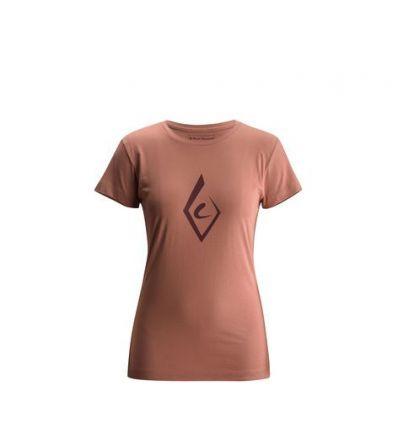 T-shirt Black Diamond Brushstroke Femmes (petal)