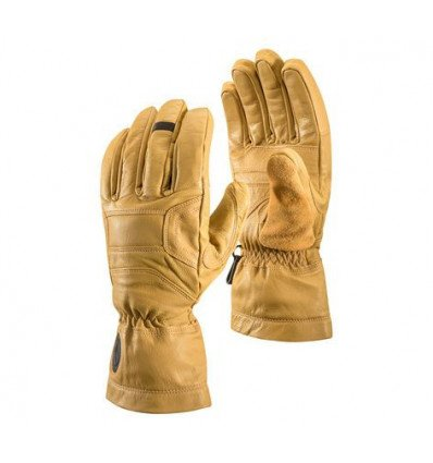 Gants en cuir BLACK DIAMOND Kingpin (natural)