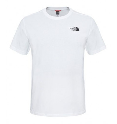 T-shirt Ss Simple Dome Tee - The North Face (White)