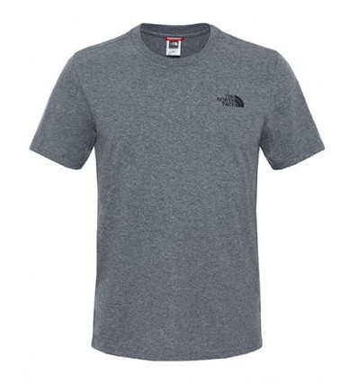 T-shirt THE NORTH FACE Simple Dome Tee (grey heather) Homme