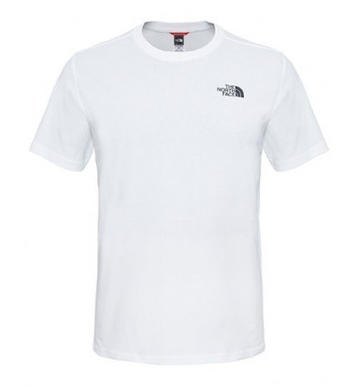 T-shirt The North Face Red Box Tee (blanc) Homme