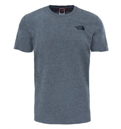T-shirt Red Box Tee - The North Face (Medium Grey heather) Homme