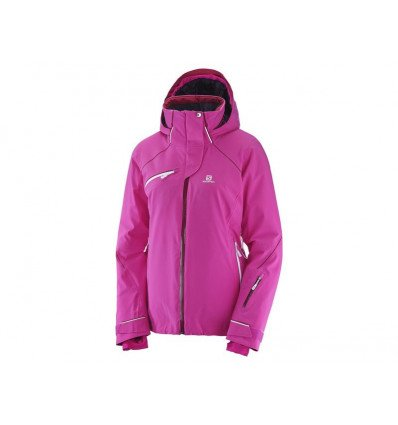 Veste ski Speed Jkt W Femme - Salomon (Rose Violet)