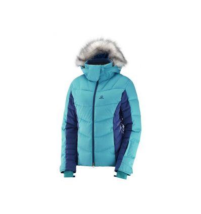 Veste hiver Icetown Femme - Salomon (Bluebird/medieval blue)