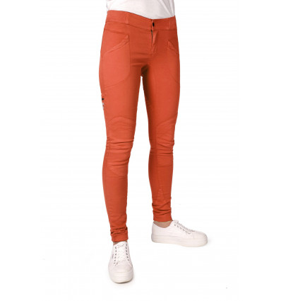 Pantalon d'escalade Femme Looking for wild rouge