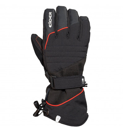 Gants de ski Blackcomb 4.0 M Homme - Eider (Black/Red lava)