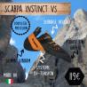 Chaussons d'escalade Scarpa Instinct vs