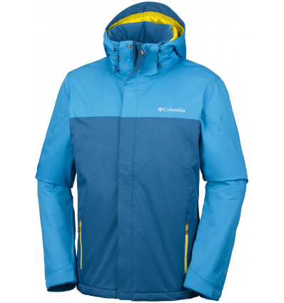 Veste hiver Columbia Everett Mountain Jacket (Phoenix blue, dark compass)
