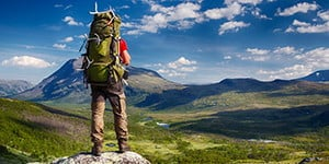 Backpack hiking / trekking