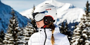 Ski helmet with visor Julbo