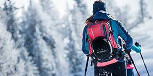 light ski backpack