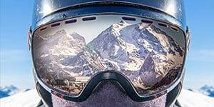 Ecrans pour masque de ski