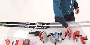 Ski equipment maintenance