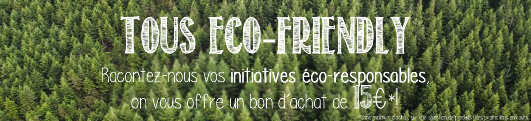 All eco-friendly: the Alpinstore team's eco-responsible initiatives!